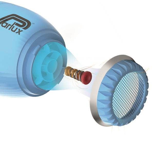 Sistema HFS para eliminación de pelo en Parlux Alyon
