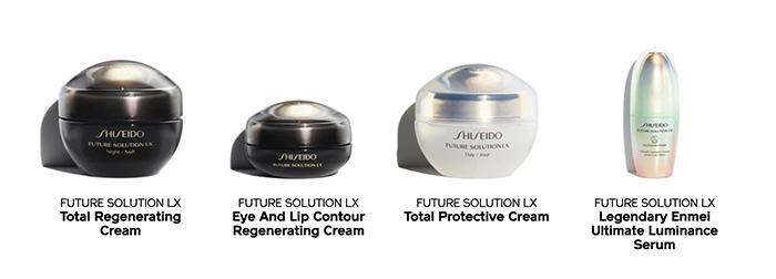 gama shiseido solution lx